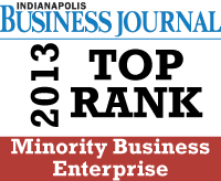 Indianapolis Business Journal Top Ranked Minority Business Enterprise